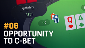 Opportunity to c-bet